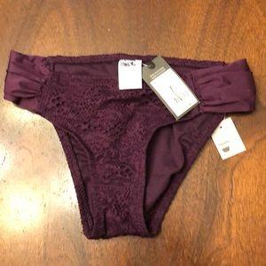Mossimo Plum Bikini Bottom Size S
